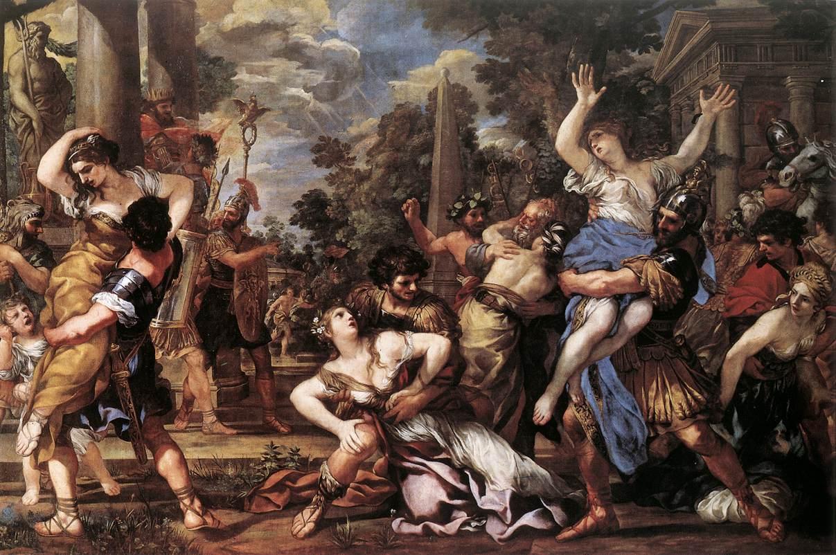 エトルリア人と英雄ロムルス王のローマ建国