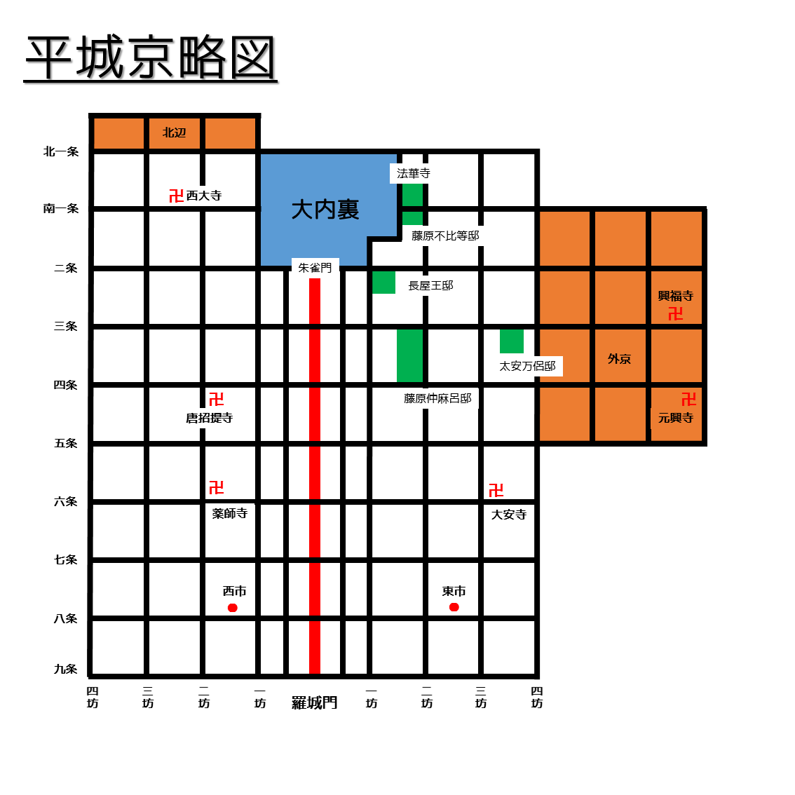 元明天皇と平城京遷都