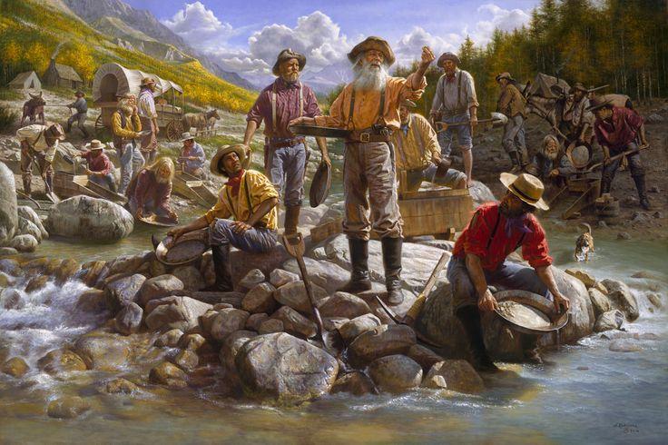 ゴールドラッシュと西部開拓とその清濁と