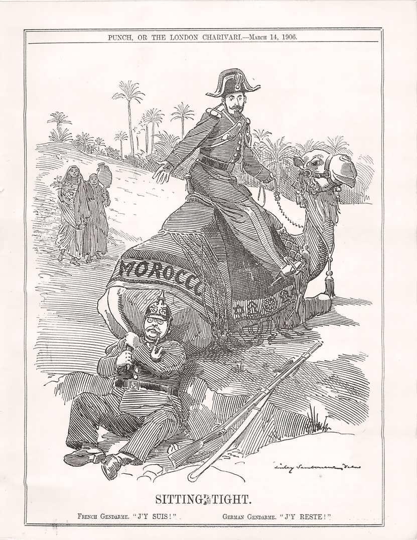 ドイツ植民地帝国とドイツによる二度にわたるモロッコ事件