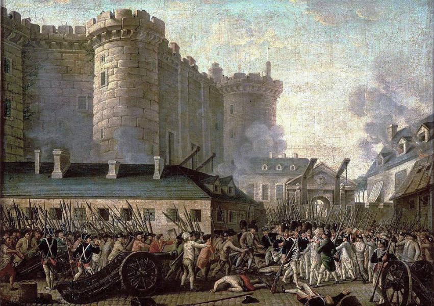 フランス革命①はじまり~バスティーユ事件と大恐怖~