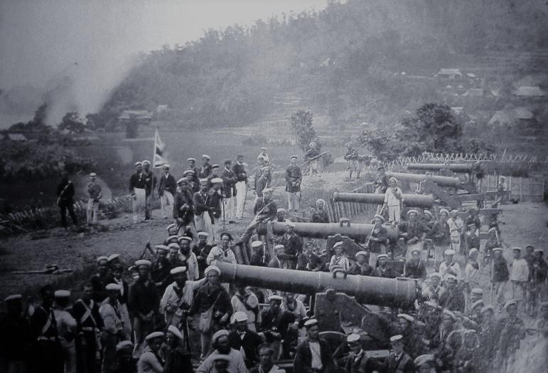長州藩外国船砲撃事件と四国連合艦隊下関砲撃事件