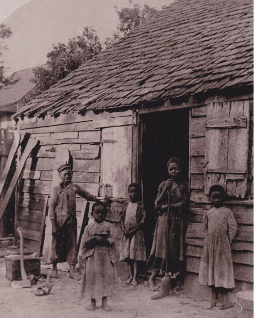 南北戦争後の黒人の生活