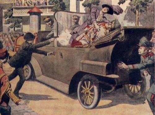 サライェヴォ事件で第一次世界大戦が勃発