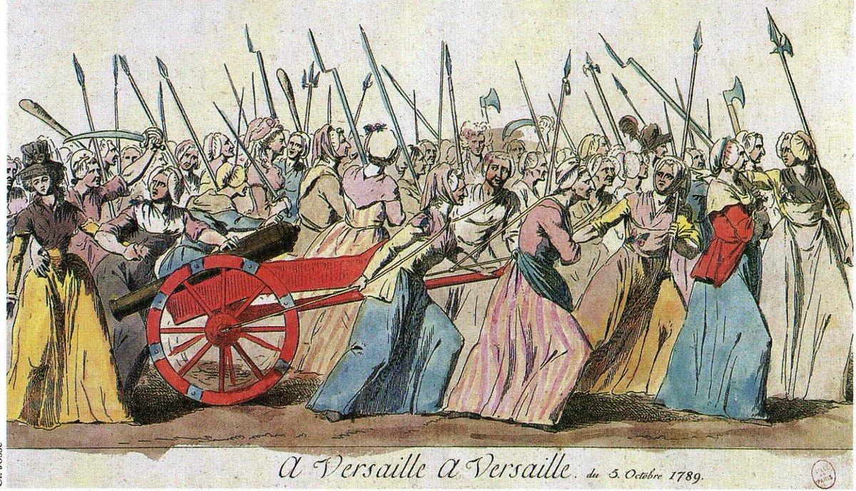 フランス革命③ヴェルサイユ行進と国民議会の諸改革