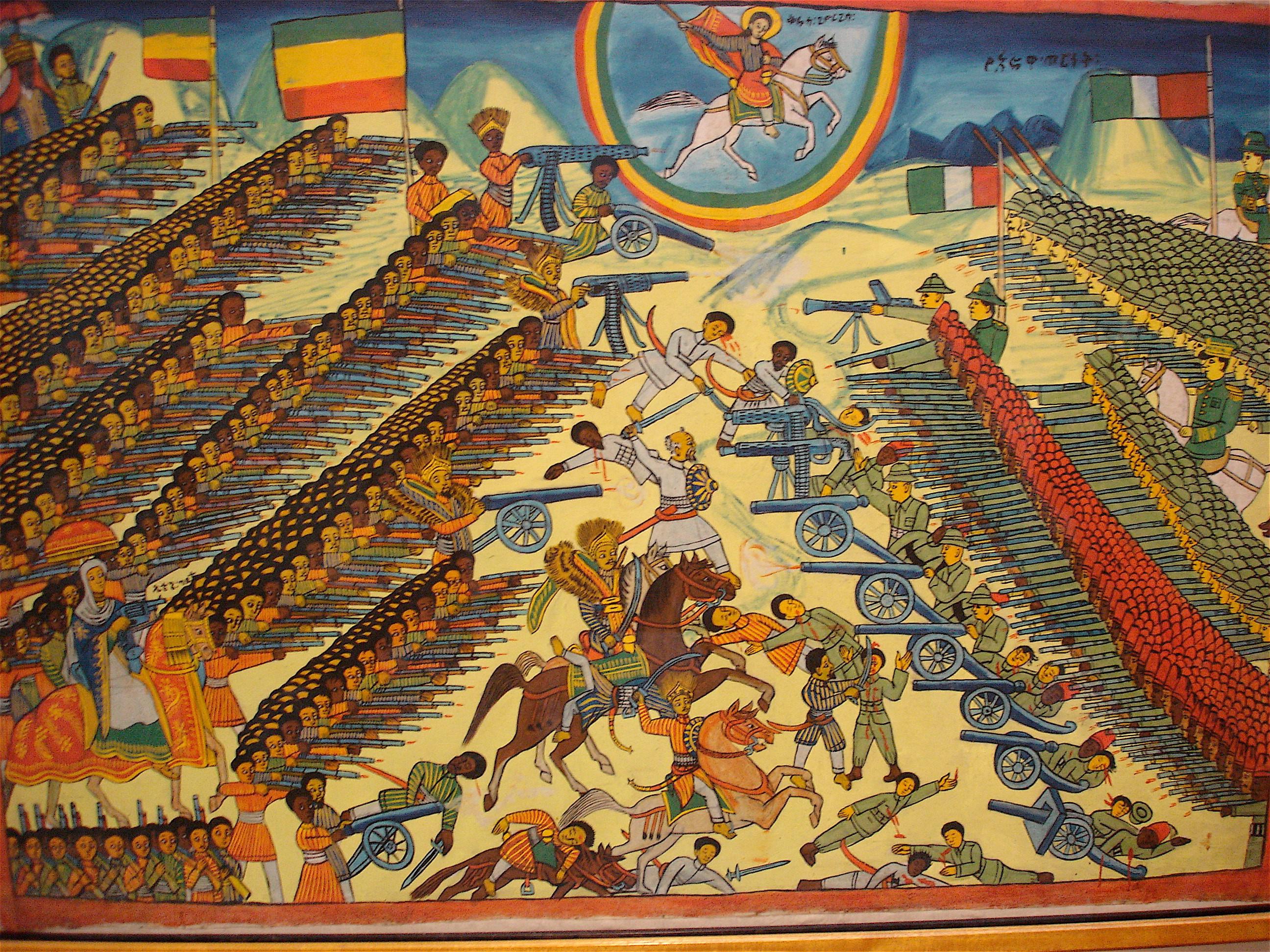 エチオピア戦争とイタリア=トルコ戦争~イタリアのアフリカ適当進出~